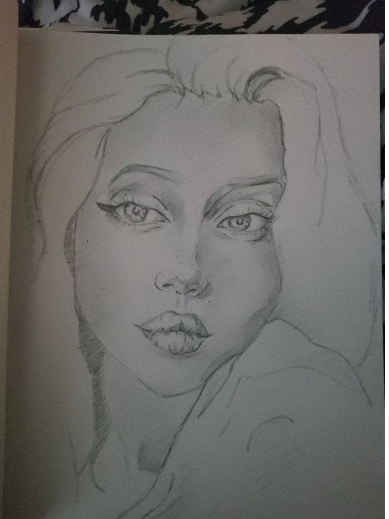 Sketch of a woman—How much does a soulmate sketch cost?