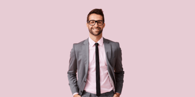 Man in glasses—Can Dating a Separated Man Work