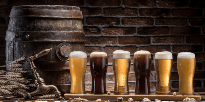 6 glasses of beer on a flight—what to wear on a date to a brewery